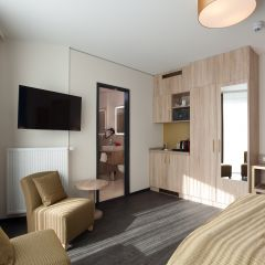 Stay Hotel Hamburg Design-Zimmer